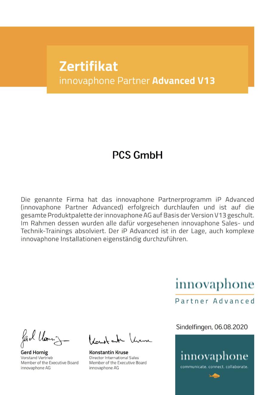 PCS-Partnerzertifikat-innovaphone